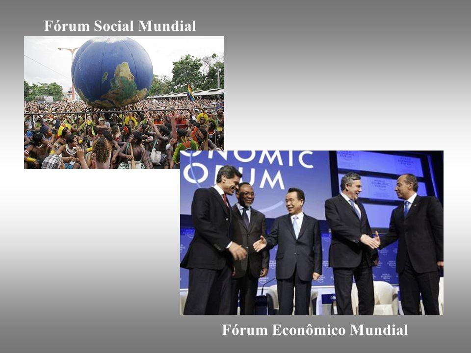 Fórum Social Mundial Fórum Econômico Mundial