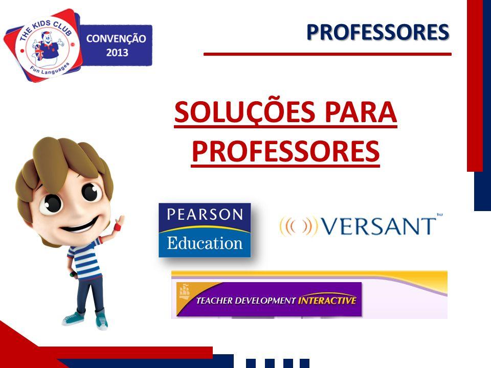 SOLUÇÕES PARA PROFESSORES PROFESSORES