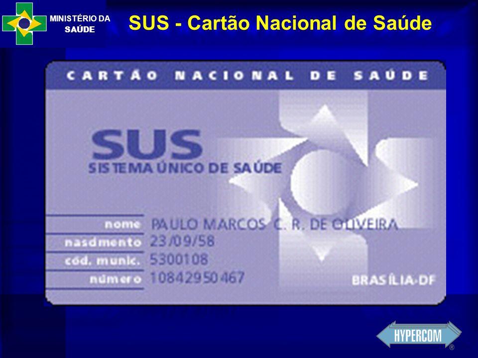 MINISTÉRIO DA SAÚDE SUS - Cartão Nacional de Saúde