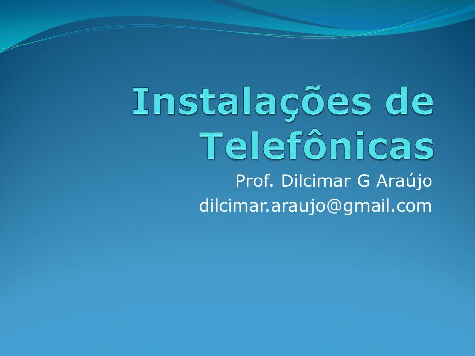 Normas ABNT a) NBR 13300 - Redes telefônicas internas em prédios - Terminologia.