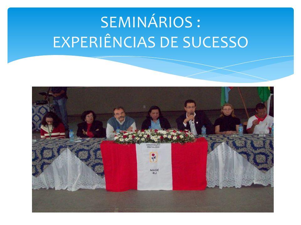 A proposta de execução do seminário surgiu no ano de 2008, após a realização de oficinas de capacitação, oferecidas por ocasião da Semana da Pessoa com Deficiência, na sede da Pestalozzi.