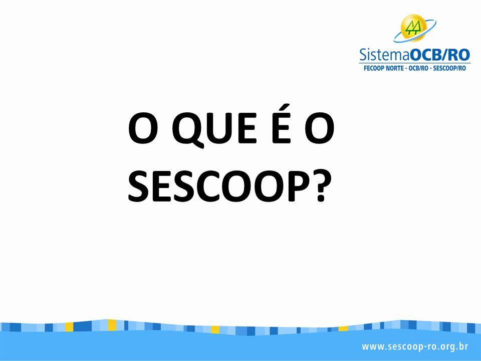 O QUE É O SESCOOP?