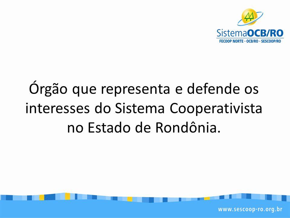 Missão Representar o sistema cooperativista, respeitando a sua diversidade e promovendo a eficiência e a eficácia econômica e social das cooperativas.