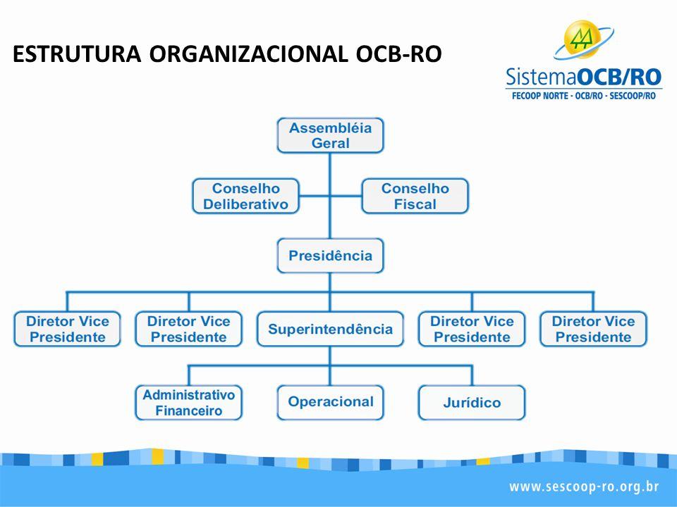 ESTRUTURA ORGANIZACIONAL OCB-RO