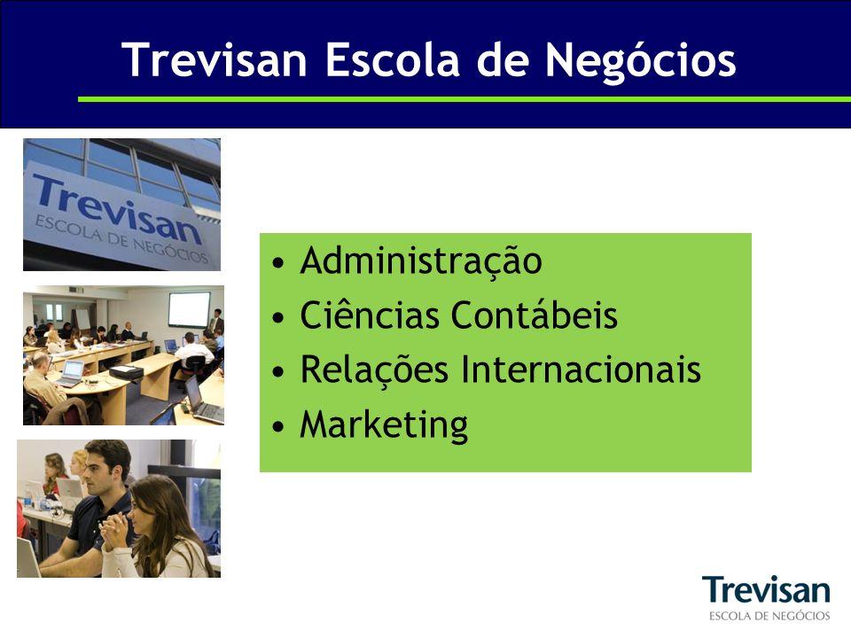 Trevisan Escola de Negócios Administração Ciências Contábeis Relações Internacionais Marketing