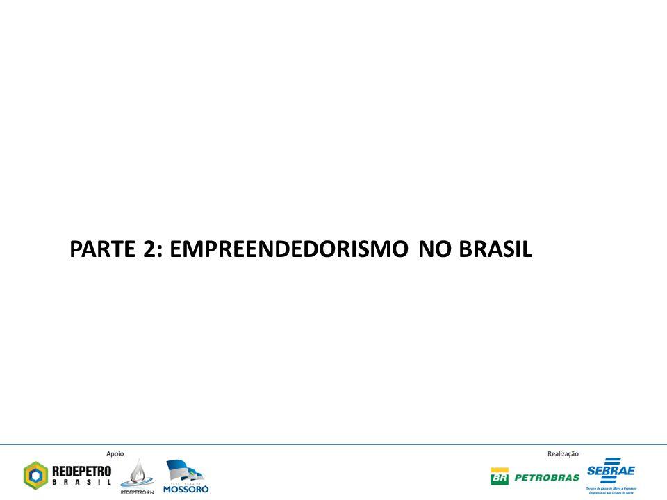 PARTE 2: EMPREENDEDORISMO NO BRASIL