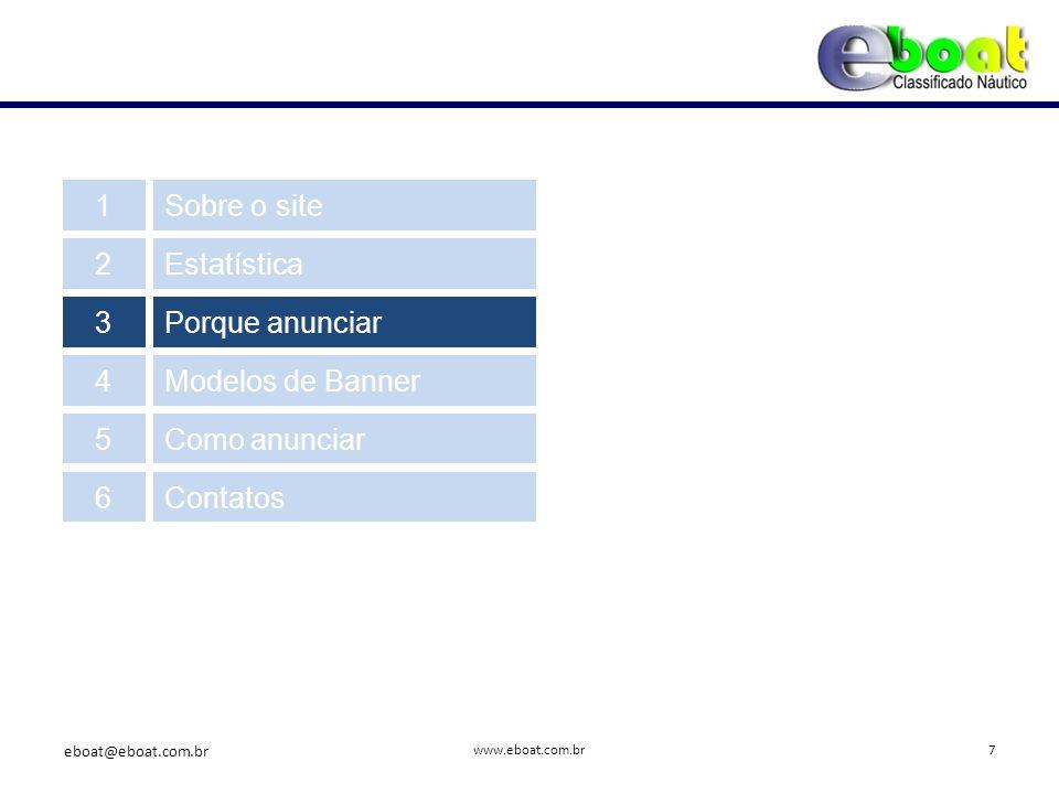 É um site 100% focado no segmento náutico.www.eboat.com.br 3.