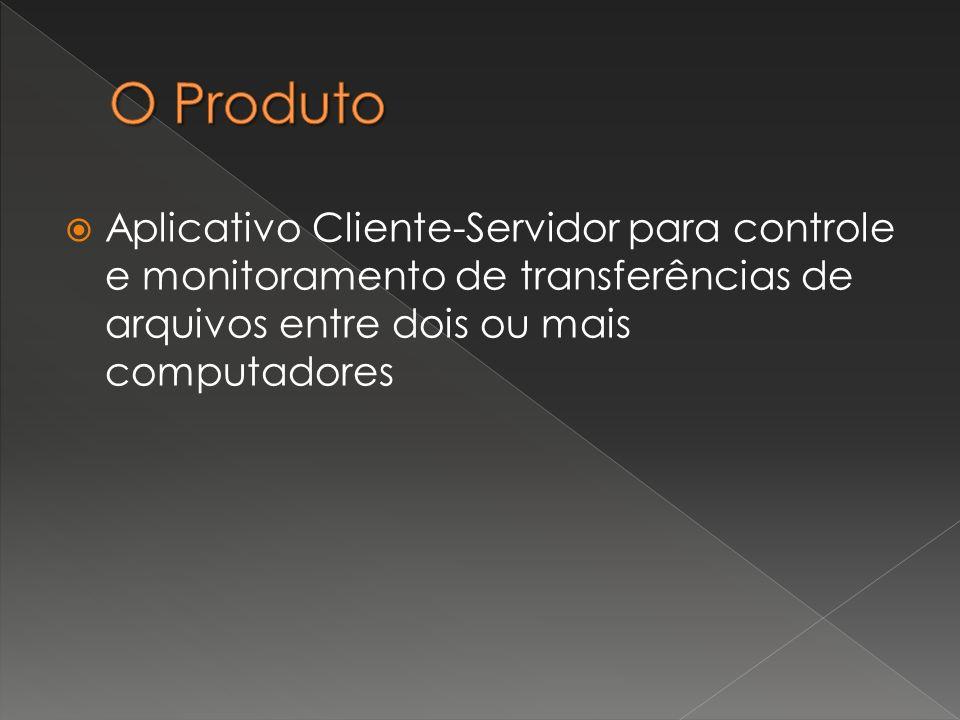 Aplicativo Cliente-Servidor para controle e monitoramento de transferências de arquivos entre dois ou mais computadores