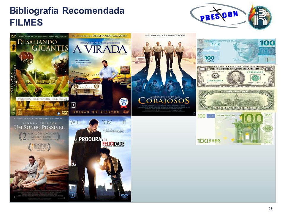 Bibliografia Recomendada FILMES 26