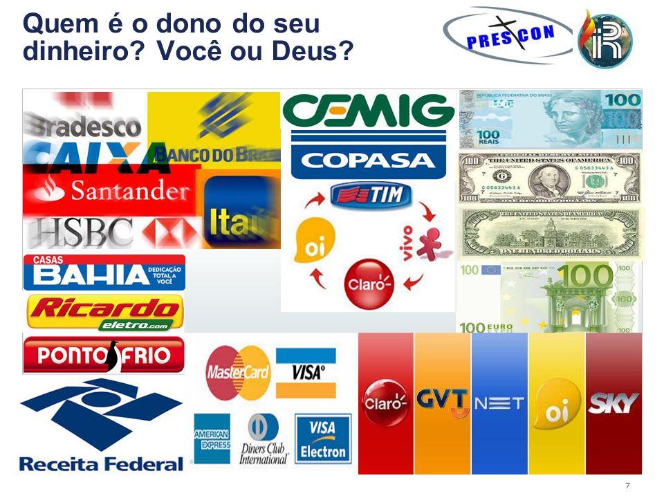 7 Quem é o dono do seu dinheiro? Você ou Deus?