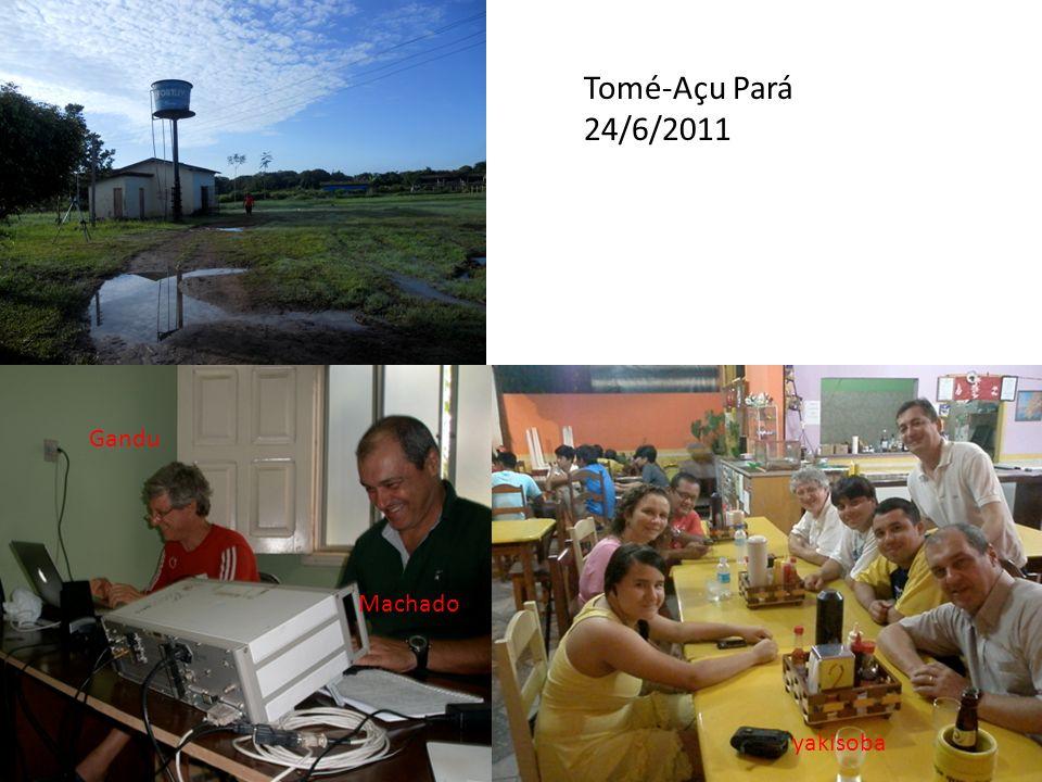 Tomé-Açu Pará 24/6/2011 Gandu Machado yakisoba