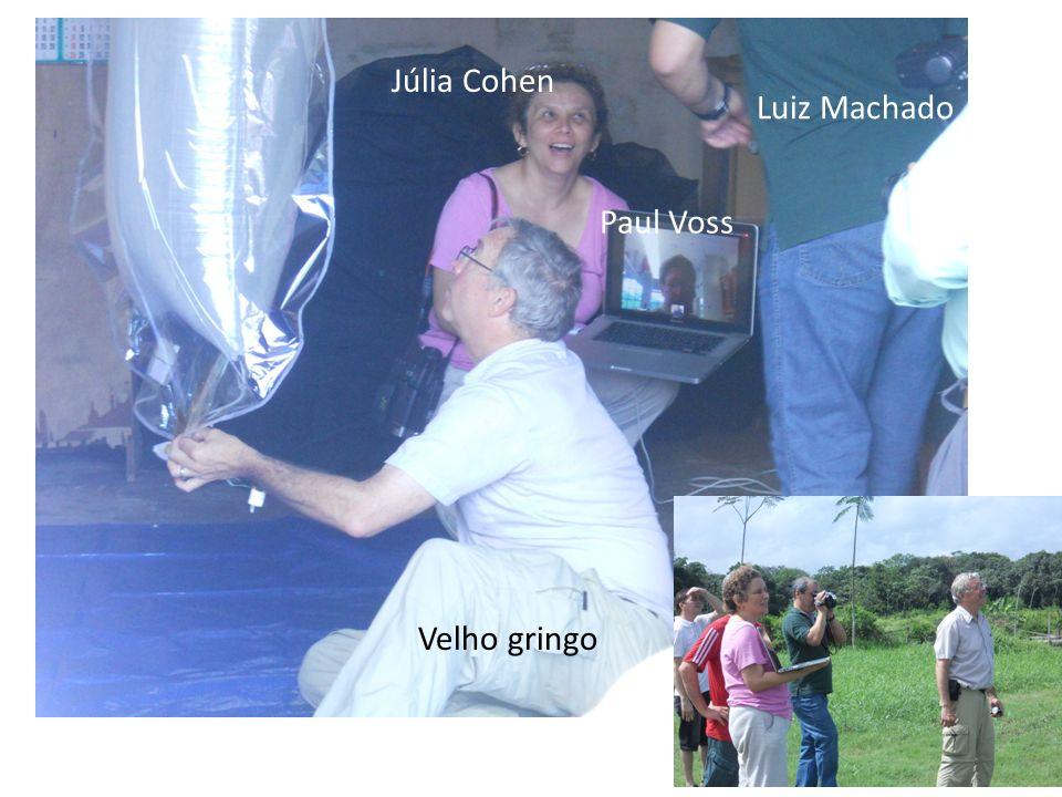 Júlia Cohen Luiz Machado Paul Voss Velho gringo