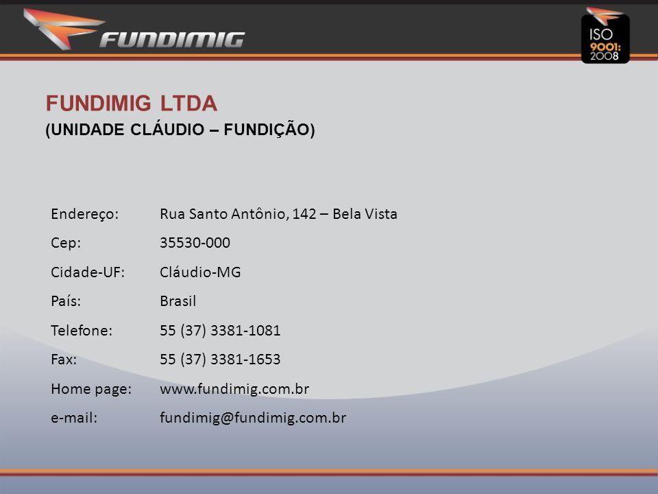Relação dos principais fornecedores CEMIG S/ADivinópolisMG Ashland Resinas Ltda.CampinasSP Buntech Tec.