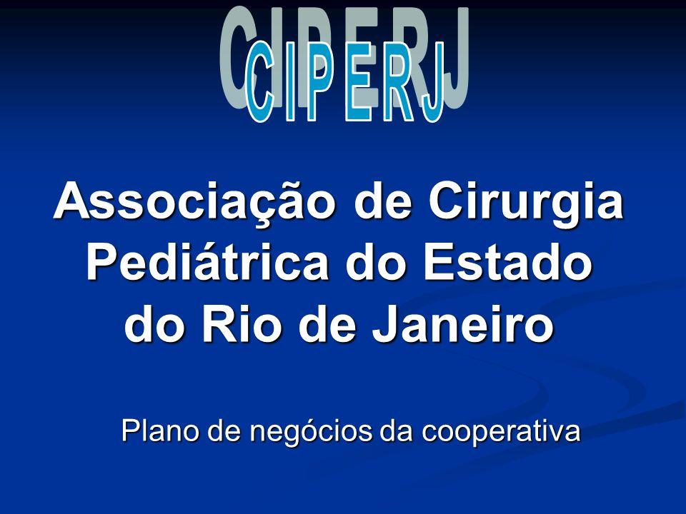 Associação de Cirurgia Pediátrica do Estado do Rio de Janeiro Plano de negócios da cooperativa
