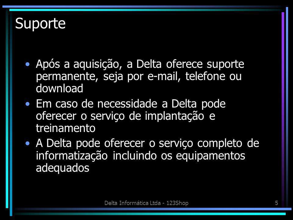 Delta Informática Ltda - 123Shop6 Acervo Telas do programa Acervo Guias de Letras para facilitar a localizaçãp Botões para selecionar os tipos de publicação ou mídia
