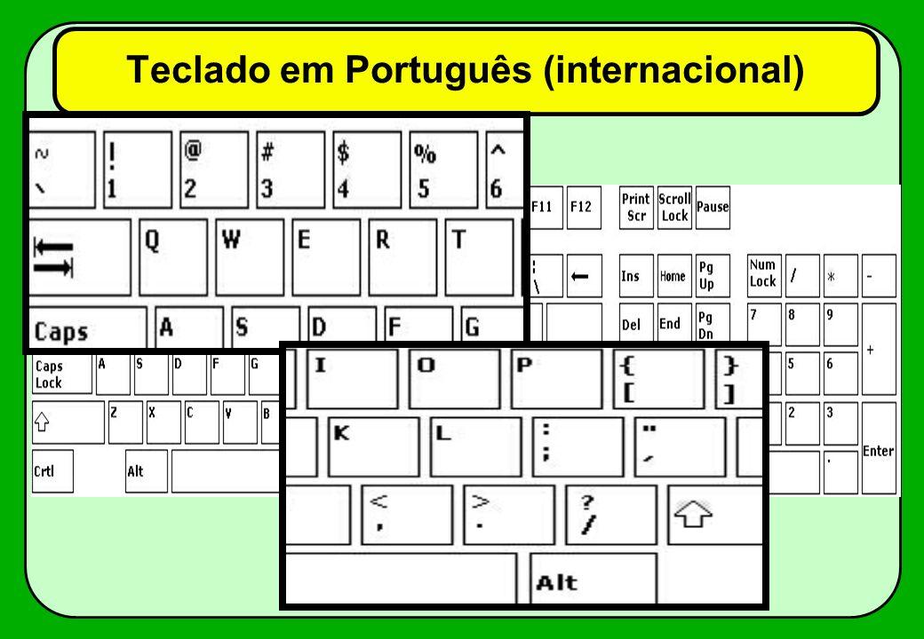 Inclinação Desde os primeiros teclados das máquinas de escrever, se entendeu ser importante que as várias linhas de teclas estejam inclinadas em relação ao plano horizontal.