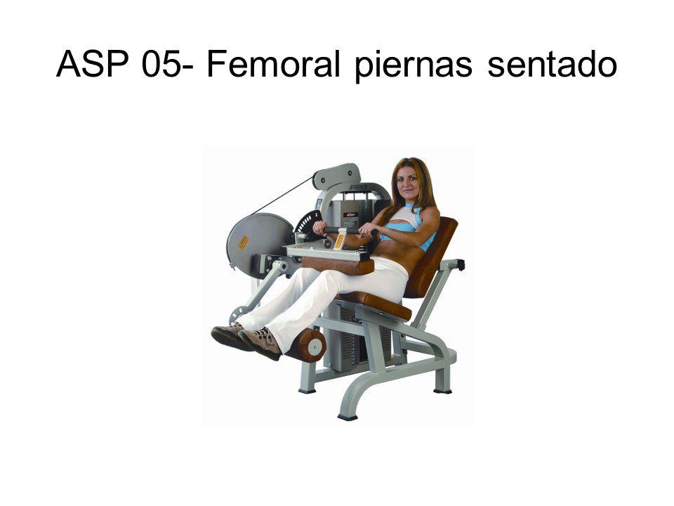 ASP 05- Femoral piernas sentado