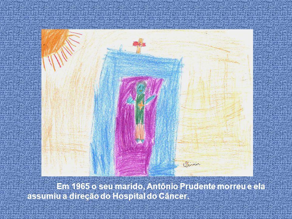 Em 23 de março de 1953 eles conseguiram inaugurar o Hospital A.