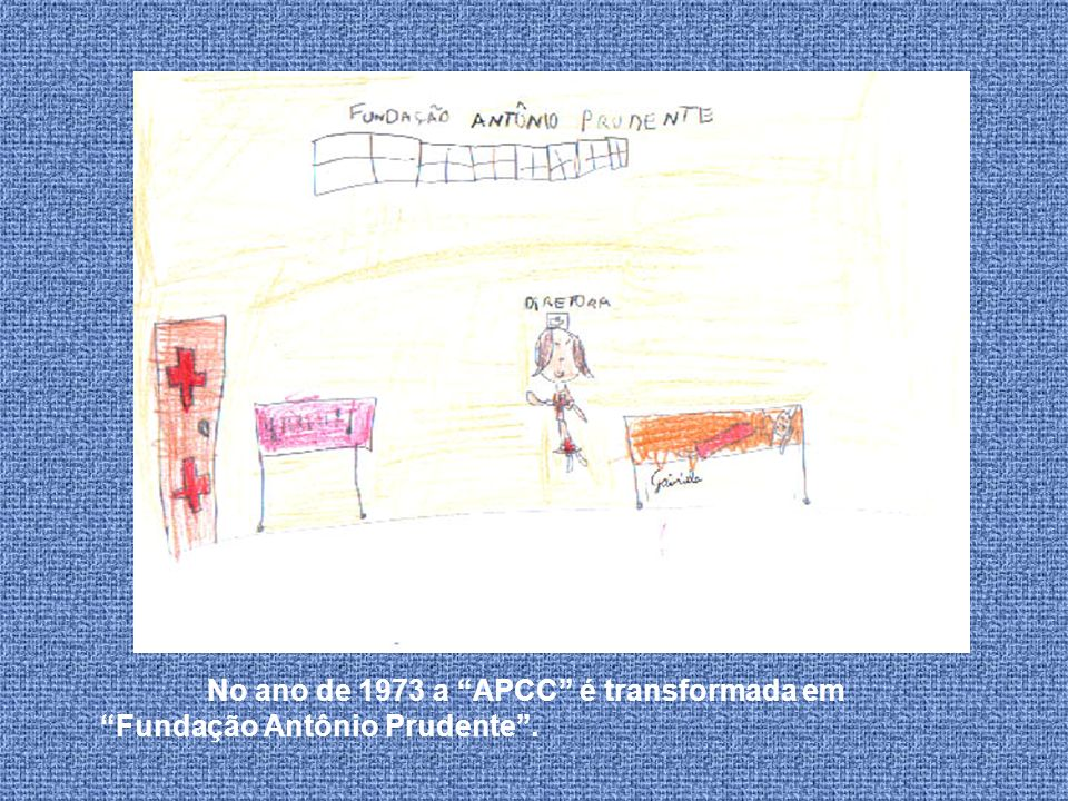Em 1965 o seu marido, Antônio Prudente morreu e ela assumiu a direção do Hospital do Câncer.