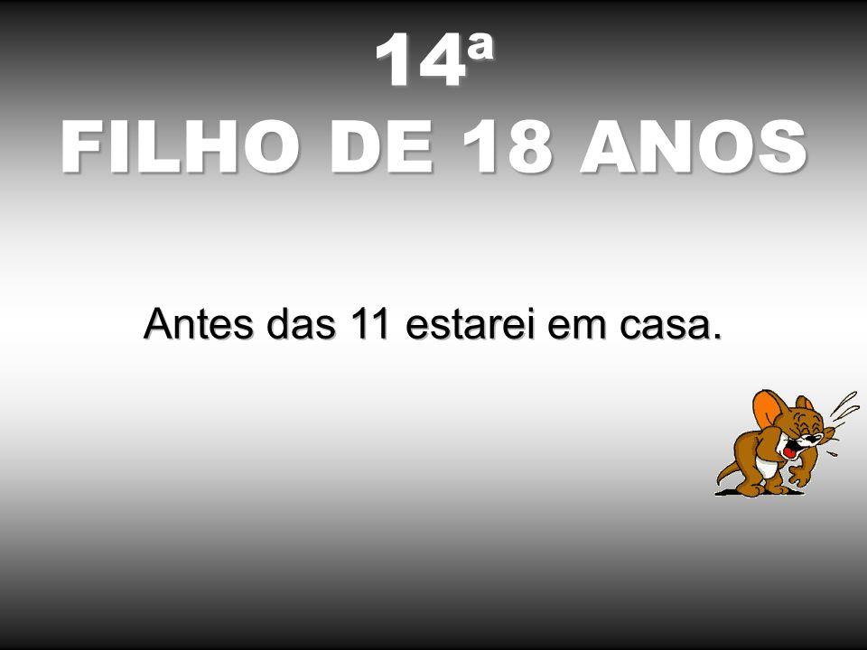 13ª FILHA DE 17 ANOS