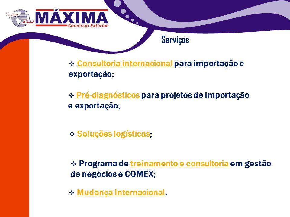 Consultoria internacional para importação e exportação; Consultoria internacional Soluções logísticas; Soluções logísticas Mudança Internacional. Muda