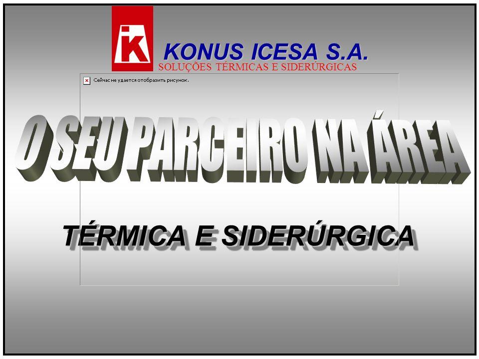 TÉRMICA E SIDERÚRGICA KONUS ICESA S.A. SOLUÇÕES TÉRMICAS E SIDERÚRGICAS