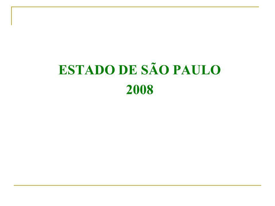 ESTADO DE SÃO PAULO 2008