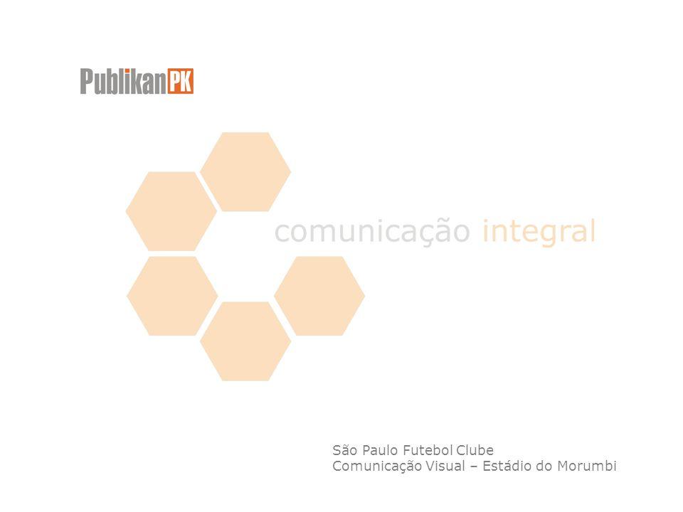 São Paulo Futebol Clube Comunicação Visual – Estádio do Morumbi