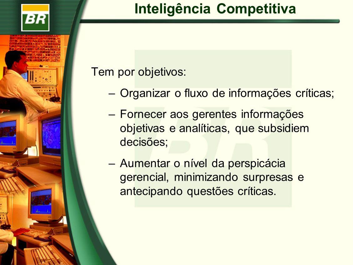 Tem por objetivos: –Organizar o fluxo de informações críticas; –Fornecer aos gerentes informações objetivas e analíticas, que subsidiem decisões; –Aumentar o nível da perspicácia gerencial, minimizando surpresas e antecipando questões críticas.