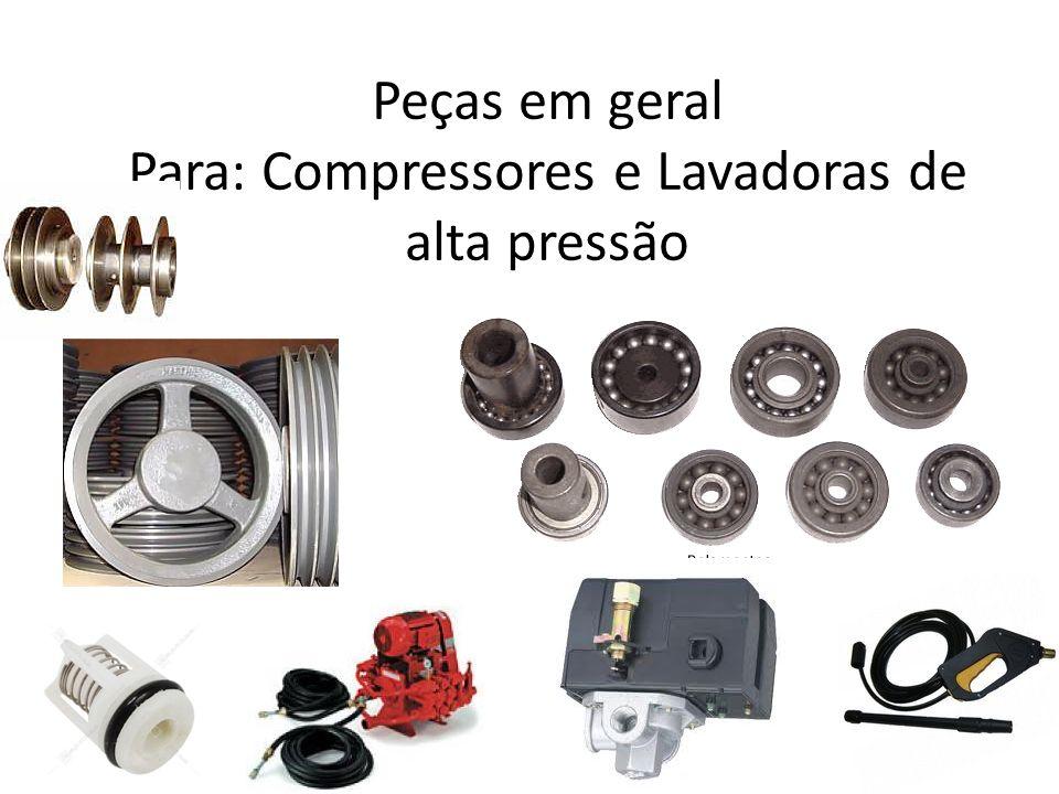 Muitas Variedades de compressores