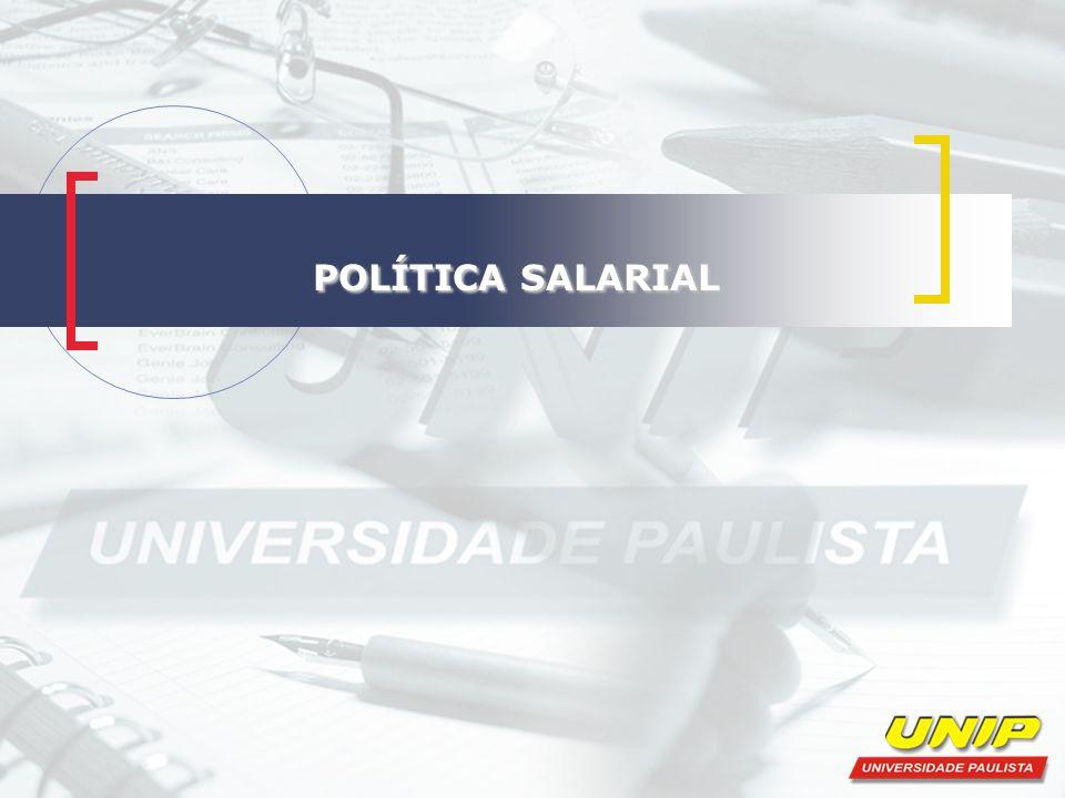 POLÍTICA SALARIAL POLÍTICA SALARIAL