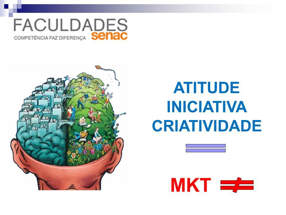 ATITUDE INICIATIVA CRIATIVIDADE MKT