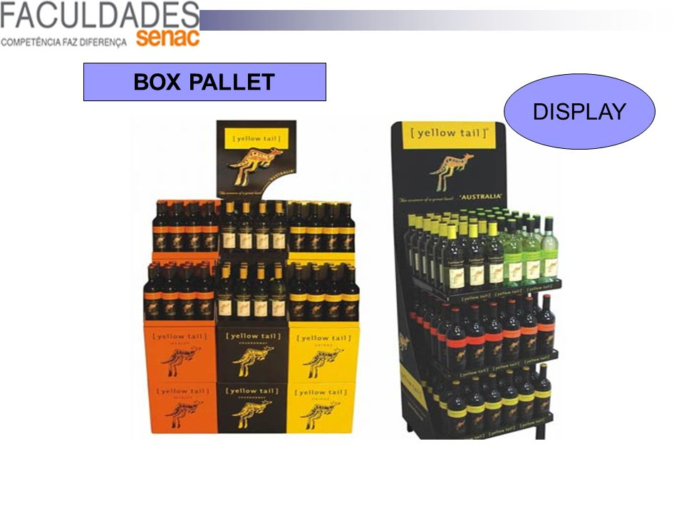 BOX PALLET DISPLAY