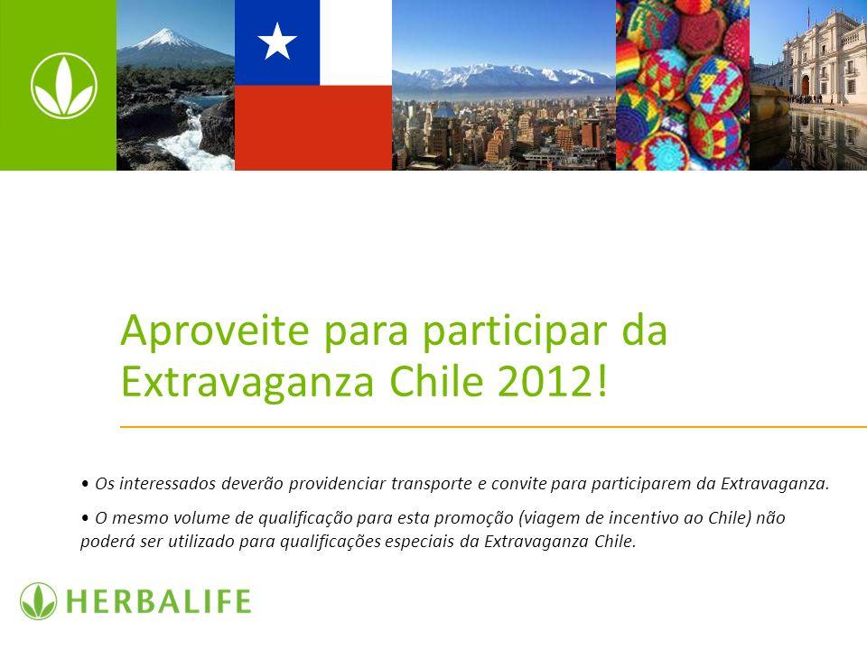 Aproveite para participar da Extravaganza Chile 2012! Os interessados deverão providenciar transporte e convite para participarem da Extravaganza. O m