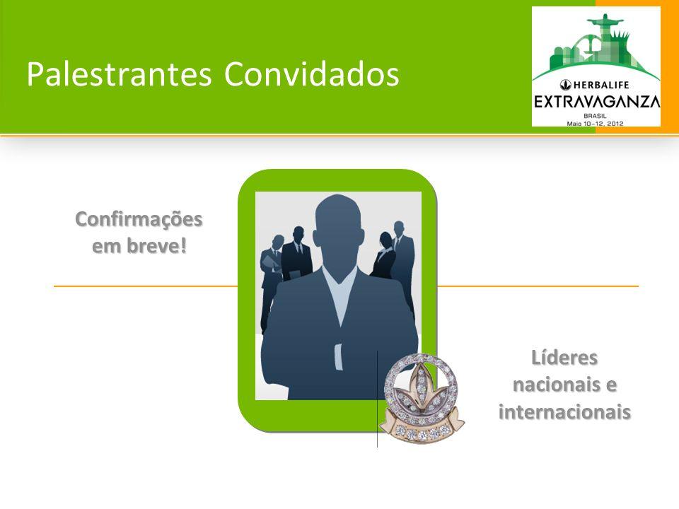 68 CHAIRMAN´S CLASS 2012 O evento que reunirá os grandes líderes do negócio Herbalife no Brasil.
