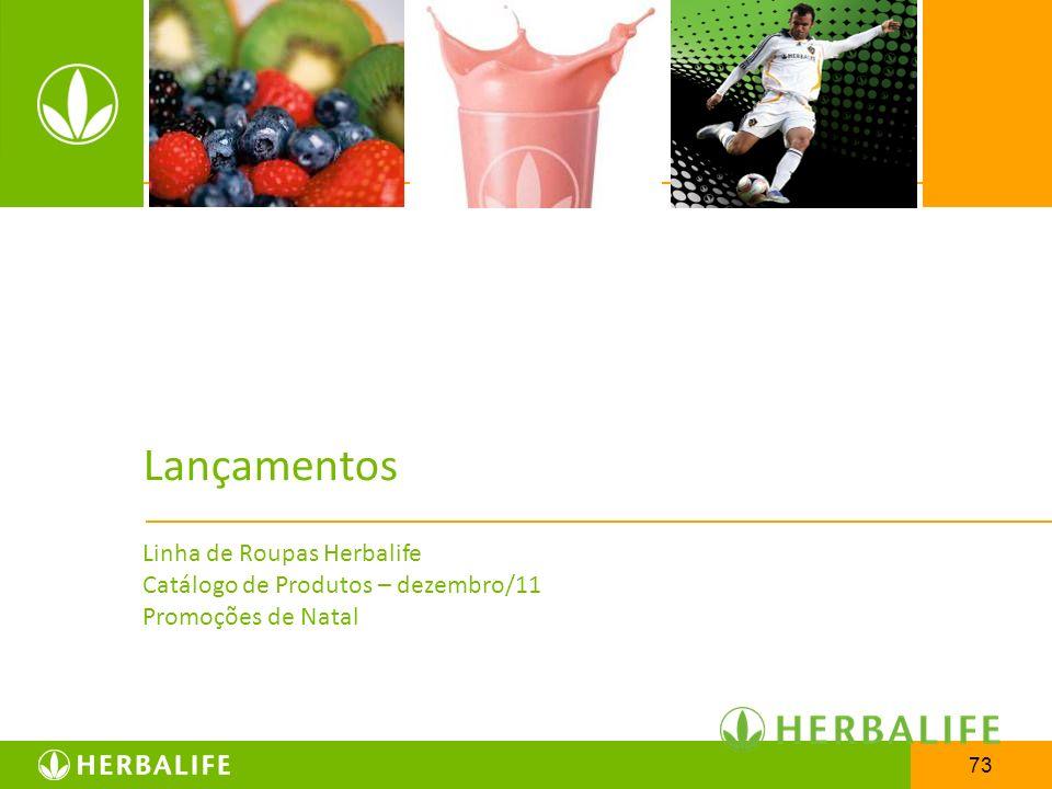 73 Lançamentos Linha de Roupas Herbalife Catálogo de Produtos – dezembro/11 Promoções de Natal