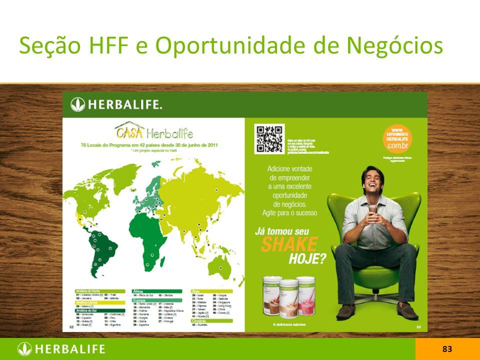 83 Seção HFF e Oportunidade de Negócios