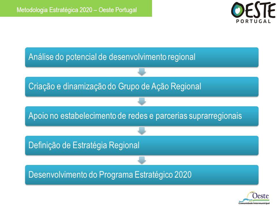 Análise do potencial de desenvolvimento regionalCriação e dinamização do Grupo de Ação RegionalApoio no estabelecimento de redes e parcerias suprarreg