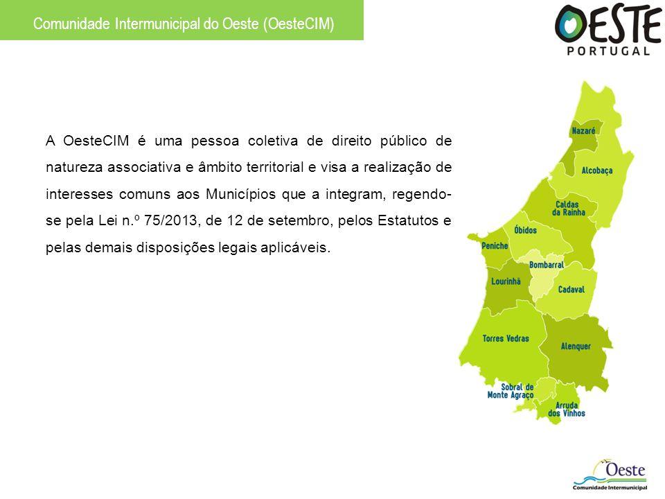 Comunidade Intermunicipal do Oeste (OesteCIM) A OesteCIM é uma pessoa coletiva de direito público de natureza associativa e âmbito territorial e visa