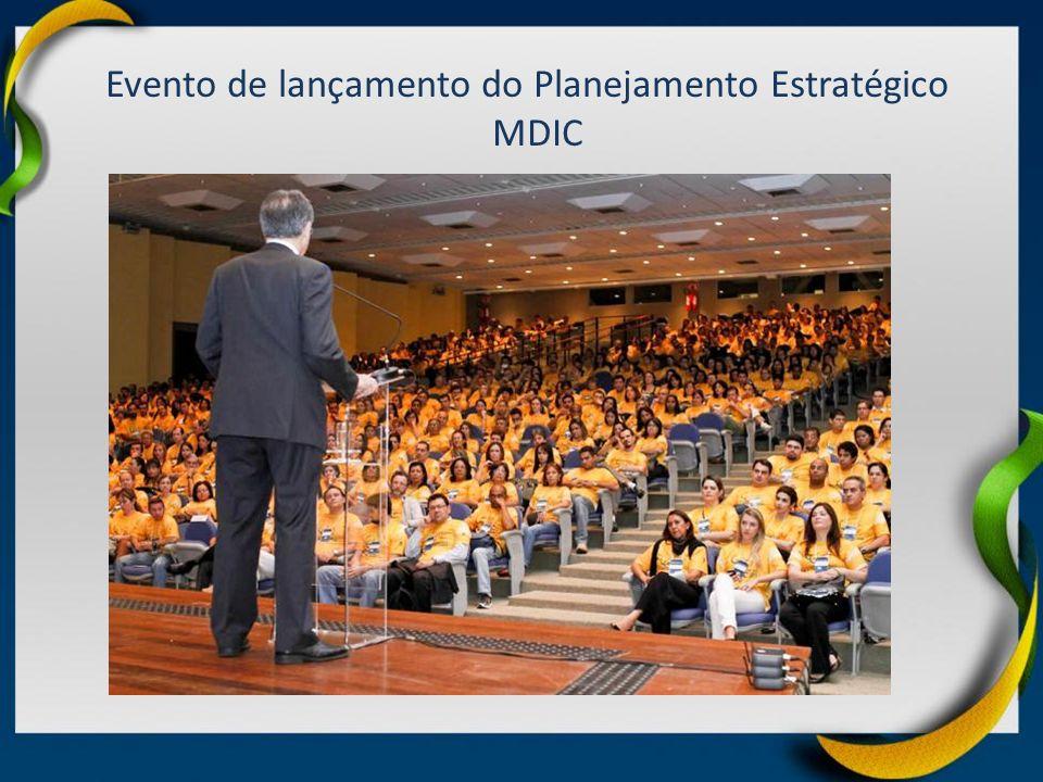 Evento de lançamento do Planejamento Estratégico MDIC