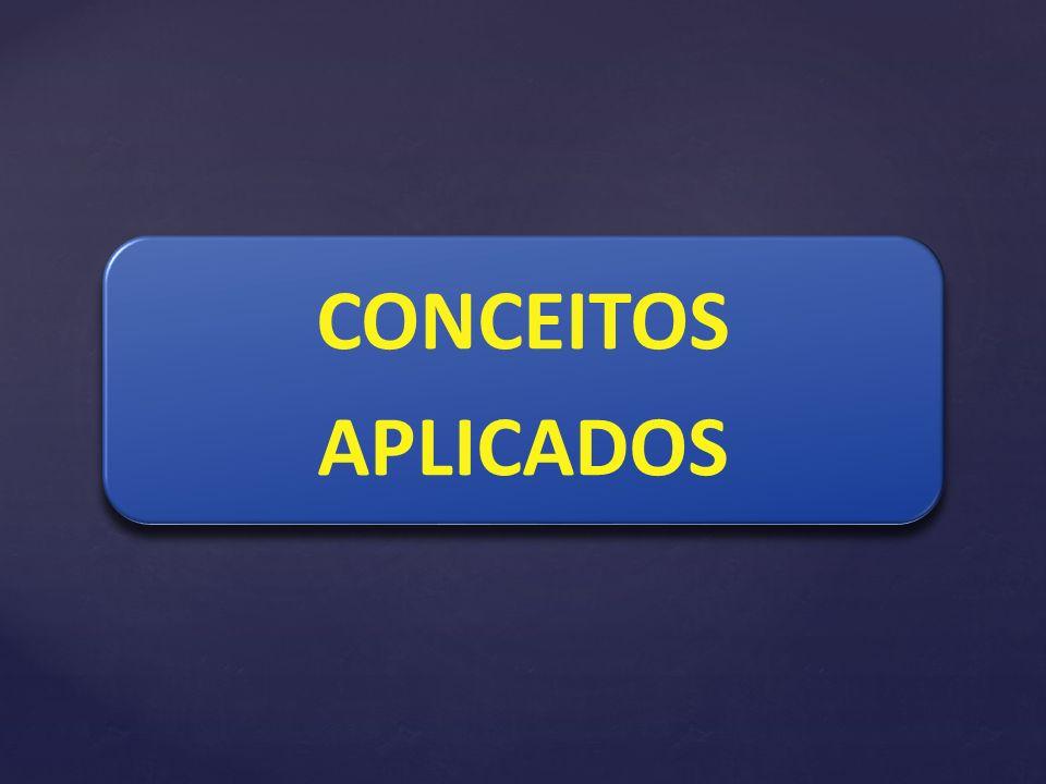 CONCEITOS APLICADOS CONCEITOS APLICADOS