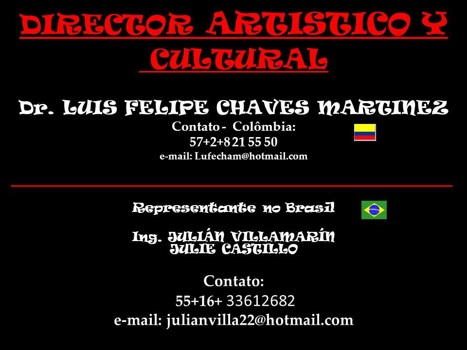 DD DIRECTOR ARTISTICO Y CULTURAL Dr.