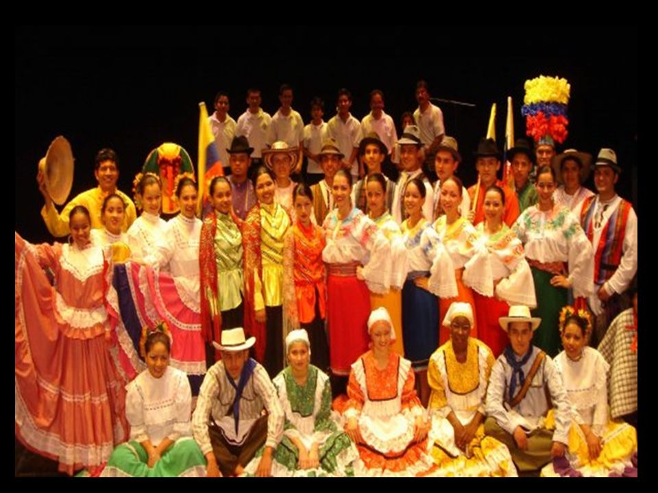 A música e a dança da Colômbia, principalmente na região andina, estão em processo de recuperação pela Fundação Cultural Aires de Pubenza – FUNCAP, que, principalmente, através da pesquisa, promoção e divulgação, tem produzido muitas propostas para a comunidade apreciar esses eventos específicos do povo colombiano.