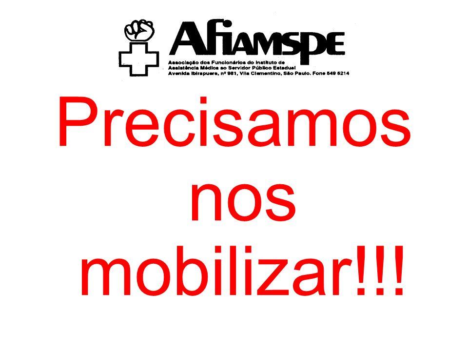 Precisamos nos mobilizar!!!