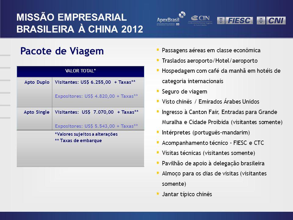 Pacote de Viagem Passagens aéreas em classe econômica Traslados aeroporto/Hotel/aeroporto Hospedagem com café da manhã em hotéis de categoria internac
