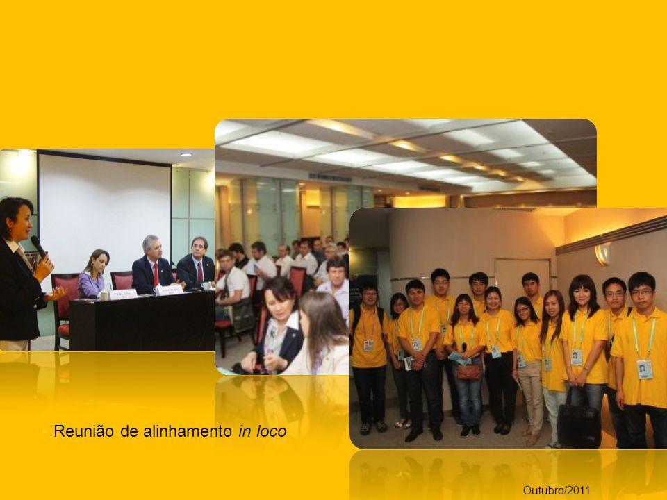 Reunião de alinhamento in loco Outubro/2011