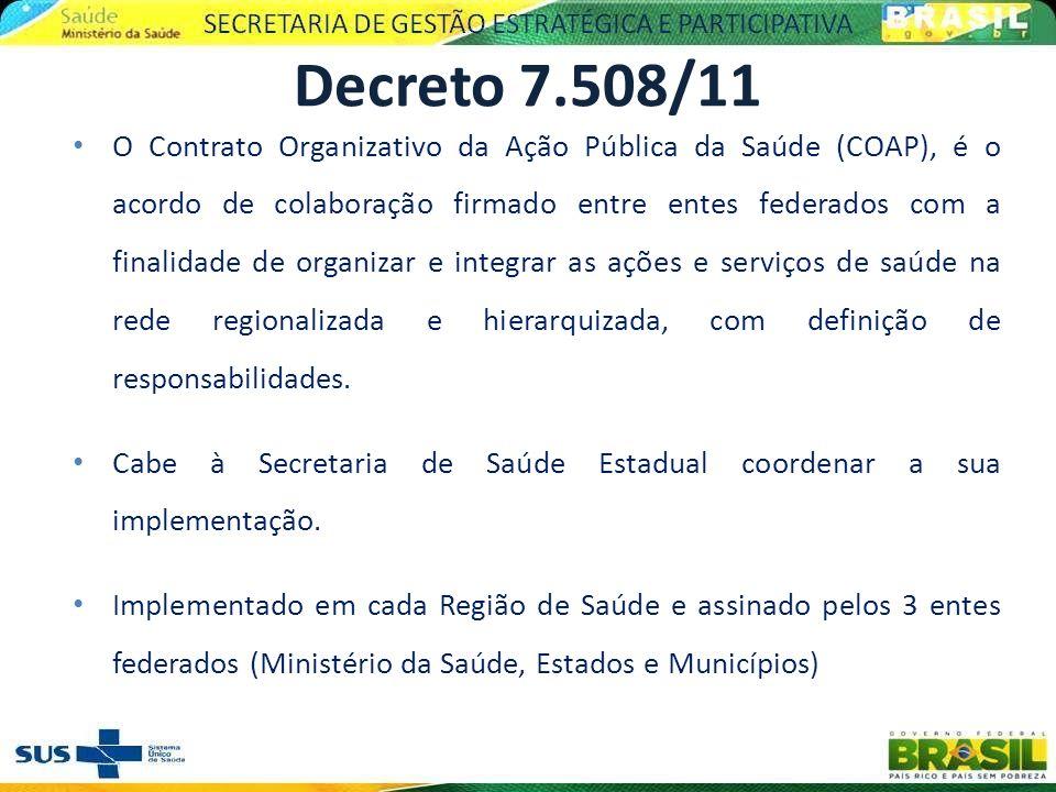 O Contrato Organizativo da Ação Pública da Saúde (COAP), é o acordo de colaboração firmado entre entes federados com a finalidade de organizar e integ
