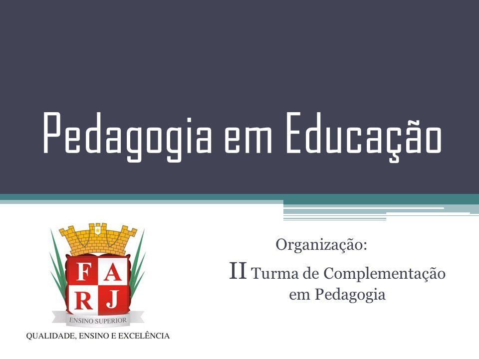 O Pedagogo O pedagogo atua na promoção da aprendizagem das pessoas nas diferentes fases do desenvolvimento humano, em diversos níveis e modalidades do processo educativo, sendo responsável pela melhoria do ensino em ambientes escolares e não-escolares (tais como empresas, hospitais, entre outros).
