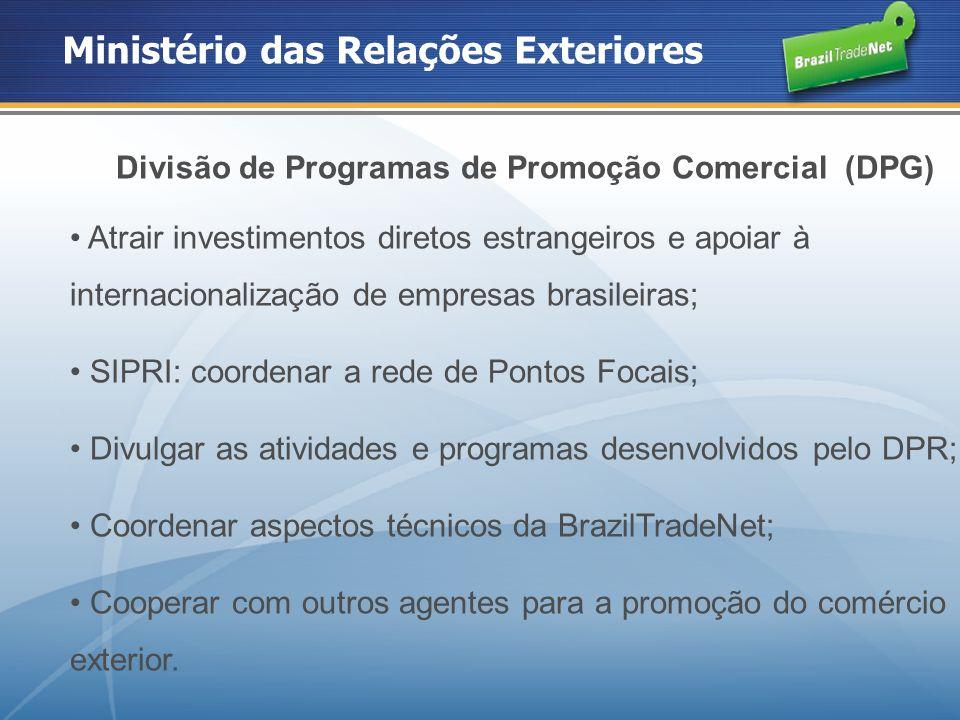 Participação do Estado no Comércio Exterior Em 2008, a participação de Goiás nas exportações brasileiras foi de mais de US$ 4 milhões, representando 2,07% do total de exportações do país; O crescimento do volume de exportações do Estado, no período de 2007 a 2008, foi de 28,48%.