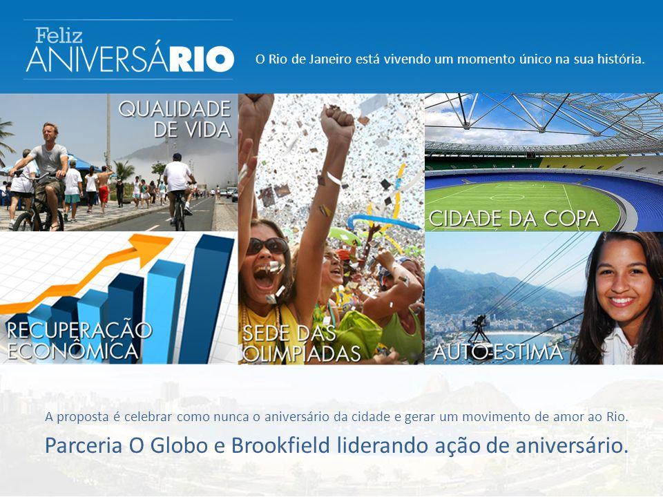 O Rio de Janeiro está vivendo um momento único na sua história.